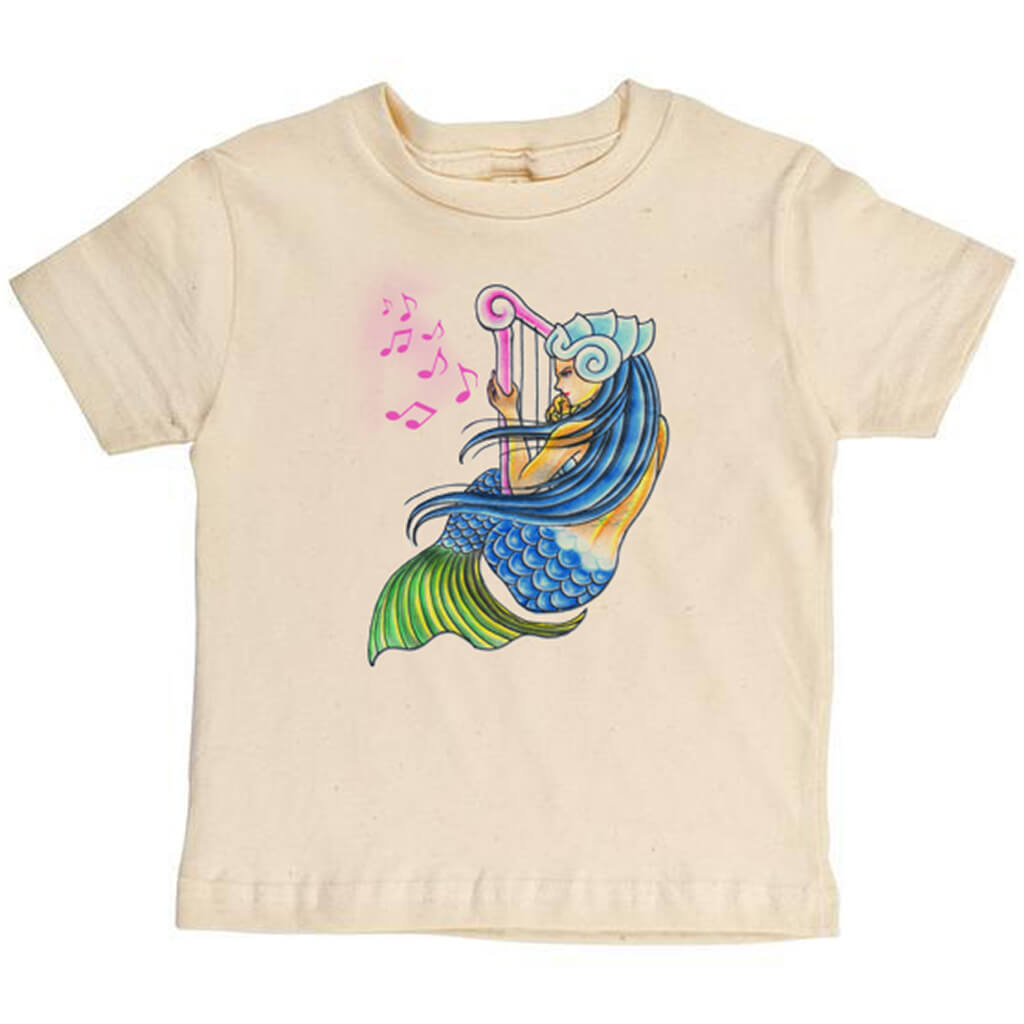 Mermaid Youth Tee - Asheville Apparel