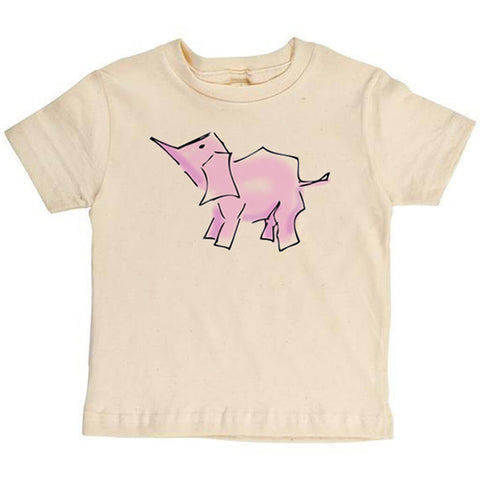 Pink Elephant Youth Tee - Asheville Apparel