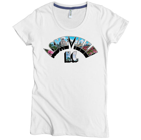 Asheville Art Deco Arch Tee - Asheville Apparel
