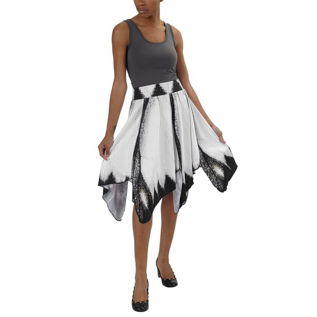1e64cb6880b9 See more  Women s Butterfly Collection · Black   White Butterfly Skirt -  Asheville Apparel