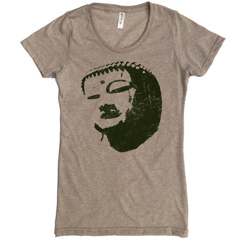 Distressed Buddha Tee - Asheville Apparel