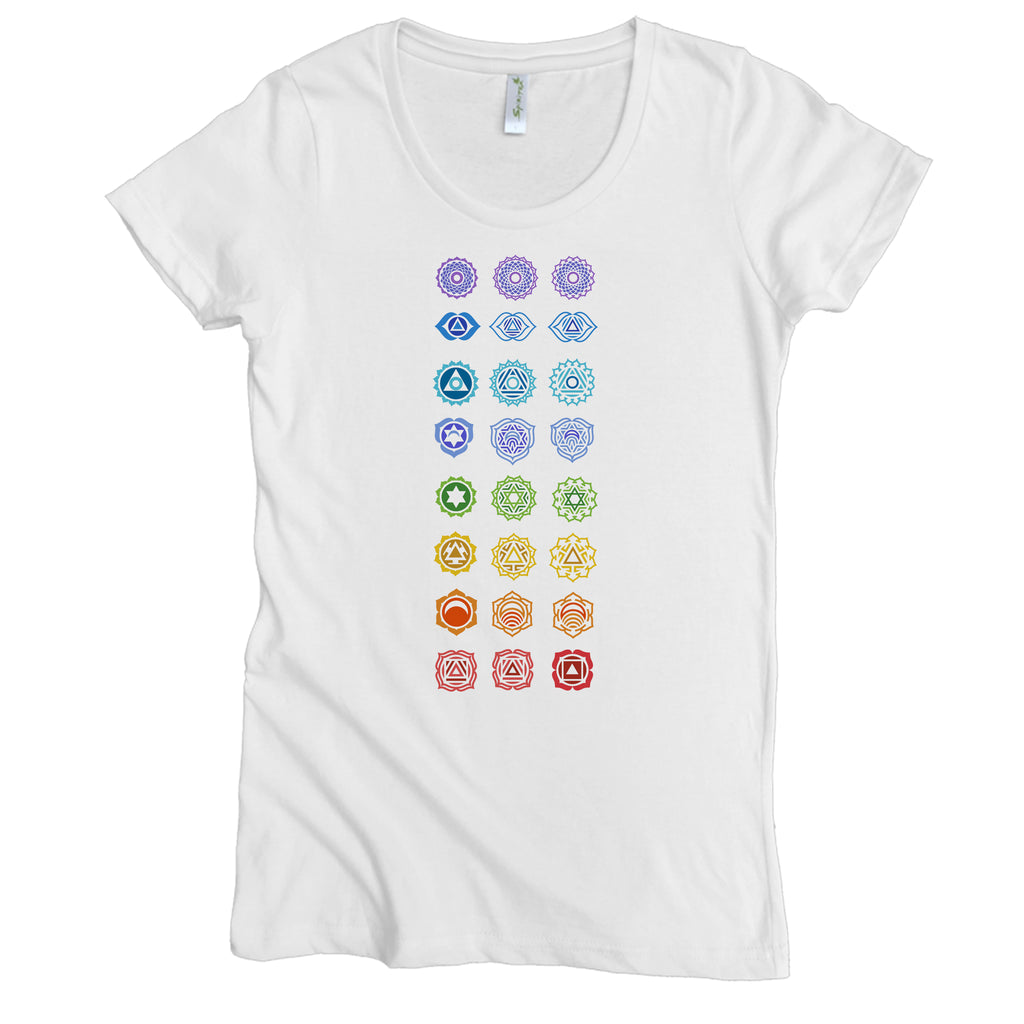 Chakras Graphic Tee