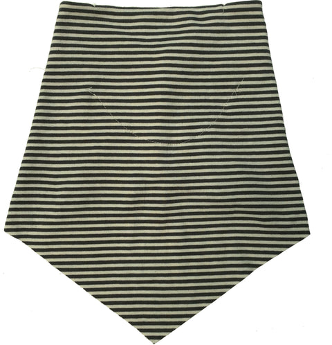 Charcoal Mini Stripe Filter Infinity Bandana
