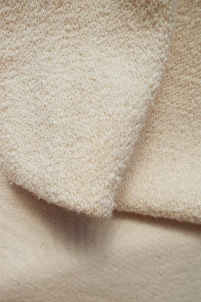 Sample Swatch | Heavy Weight French Terry | Natural Undyed