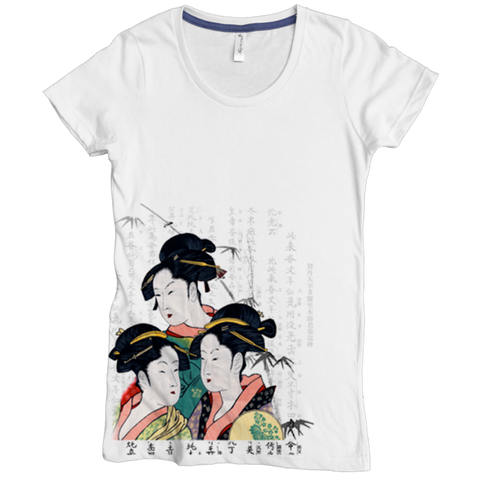 Geisha Girls Tee - Asheville Apparel