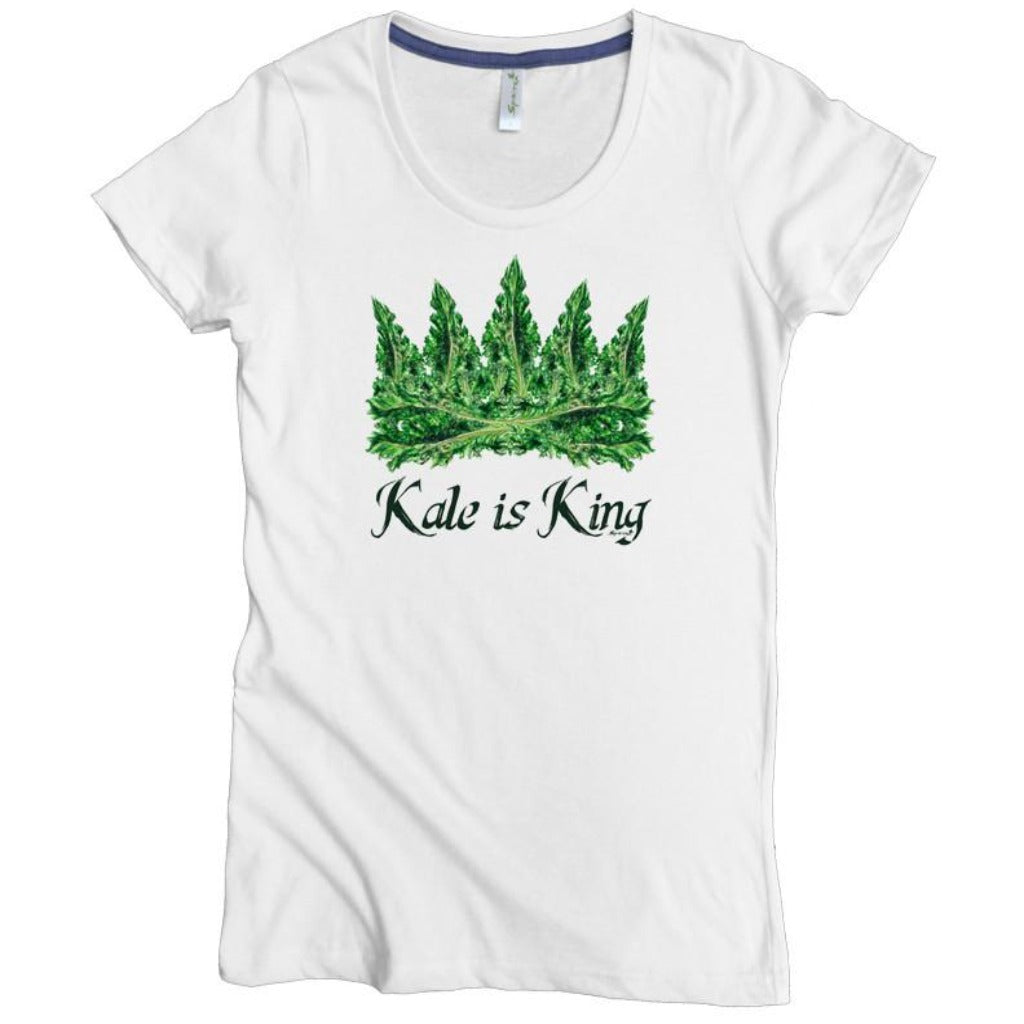Kale is King Tee - Asheville Apparel