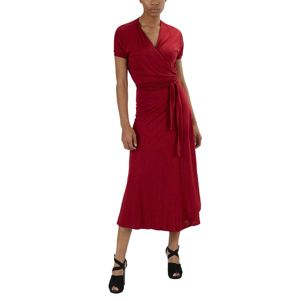 Leotte Wrap Dress