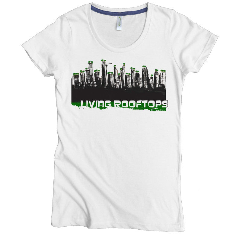Living Rooftops Tee - Asheville Apparel