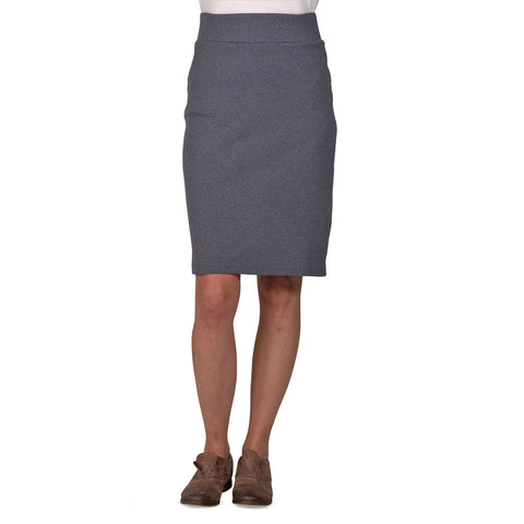 Long Andy Skirt | 50/50 Anthracite