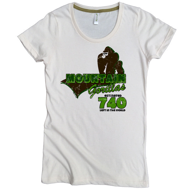 Endangered Mountain Gorilla Tee - Asheville Apparel