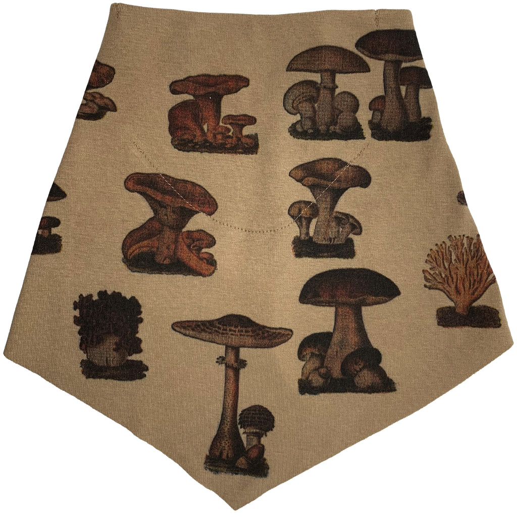 Adult | Organic Cotton | Filter Infinity Bandana | Mushroom | Mushroom | USA Made
