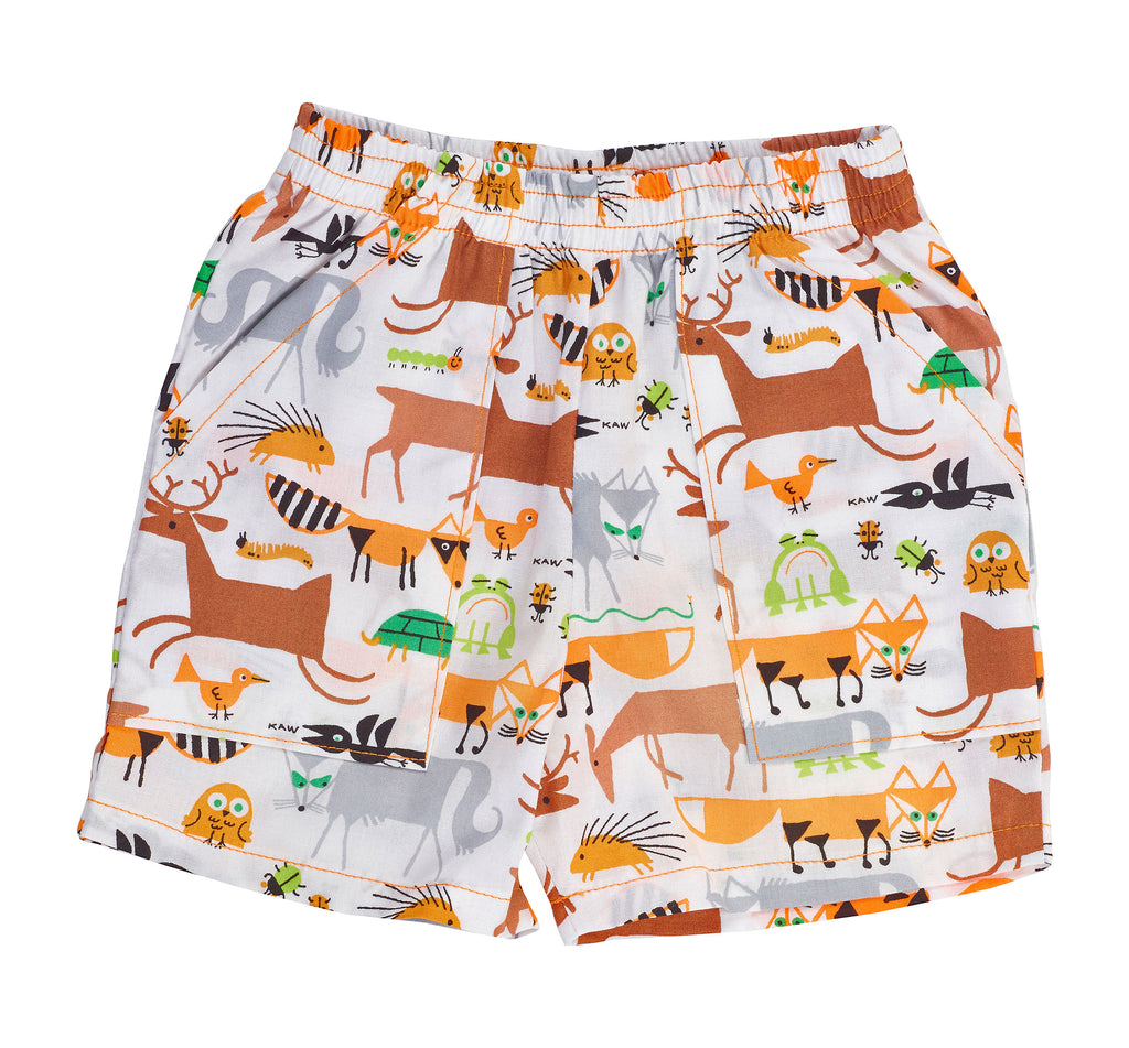 Organic Kid's Critter Short - Asheville Apparel
