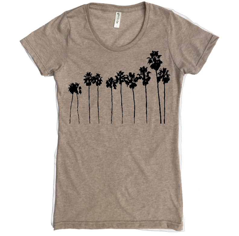 Palm Trees Tee - Asheville Apparel