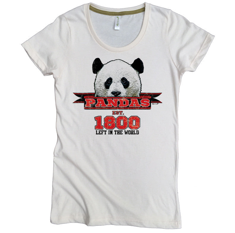 Endangered Species Panda Tee - Asheville Apparel