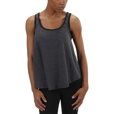 50/50 Relaxed Tank |  Charcoal