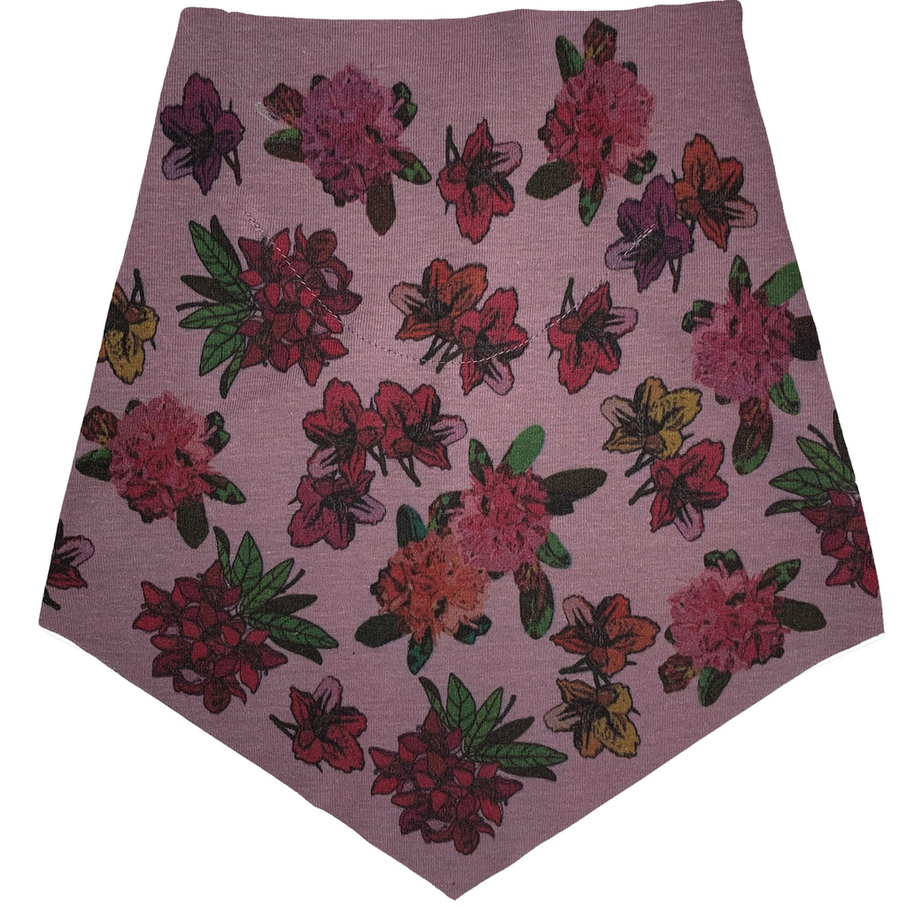 Adult | Organic Cotton | Filter Infinity Bandana | Muted Mauve | Rhododendron | USA Made