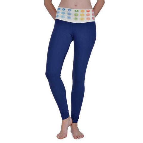 Chakra Leggings - Asheville Apparel