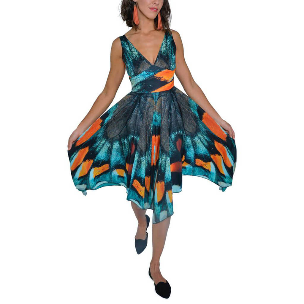 Mt. Pisgah Butterfly Dress - Asheville Apparel