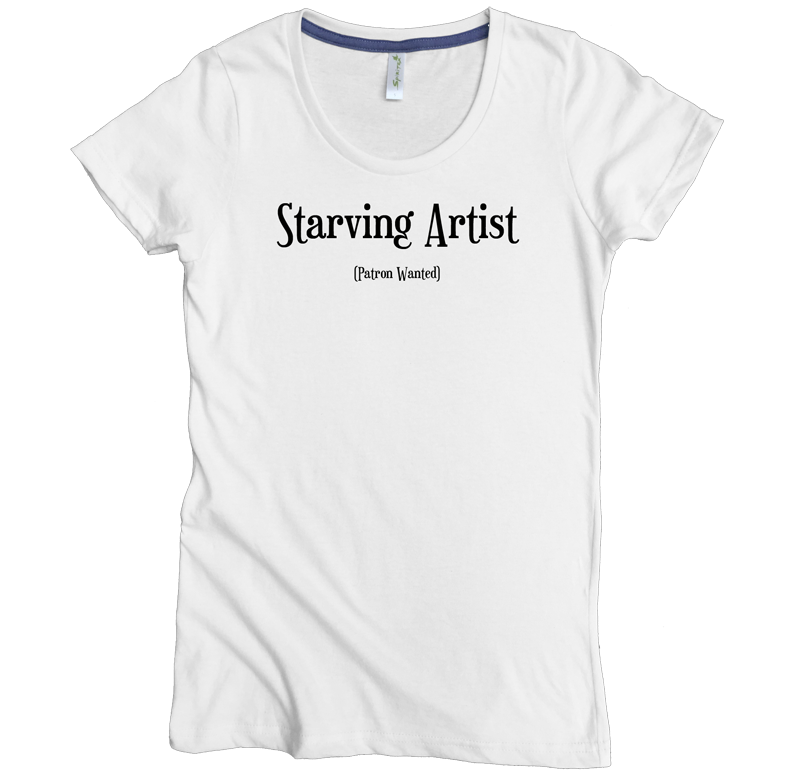 Starving Artist Tee - Asheville Apparel