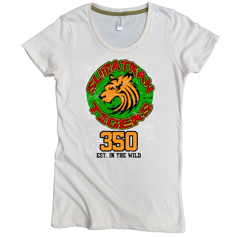 Endangered Sumatran Tiger Tee - Asheville Apparel