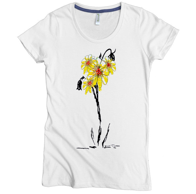 Sunflowers Tee - Asheville Apparel