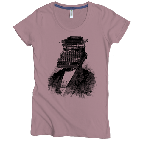 Typewriter Head Tee - Asheville Apparel