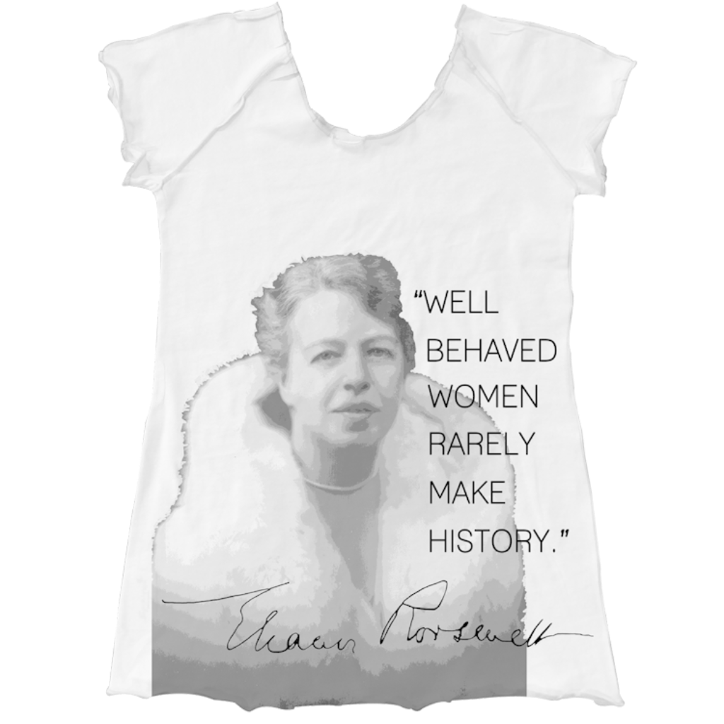 Eleanor Roosevelt Raglan - Asheville Apparel