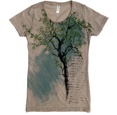 Bonsai Tree Tee - Asheville Apparel