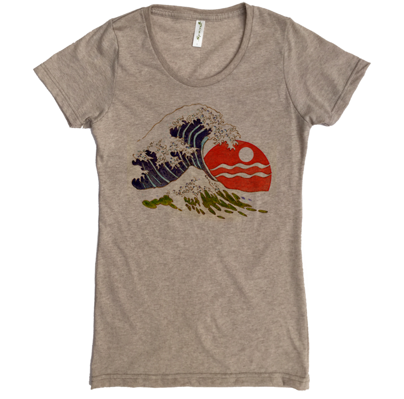 Wave Tee - Asheville Apparel