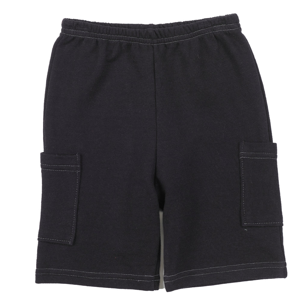 Organic Cotton | Explorer Shorts | Black | USA Made