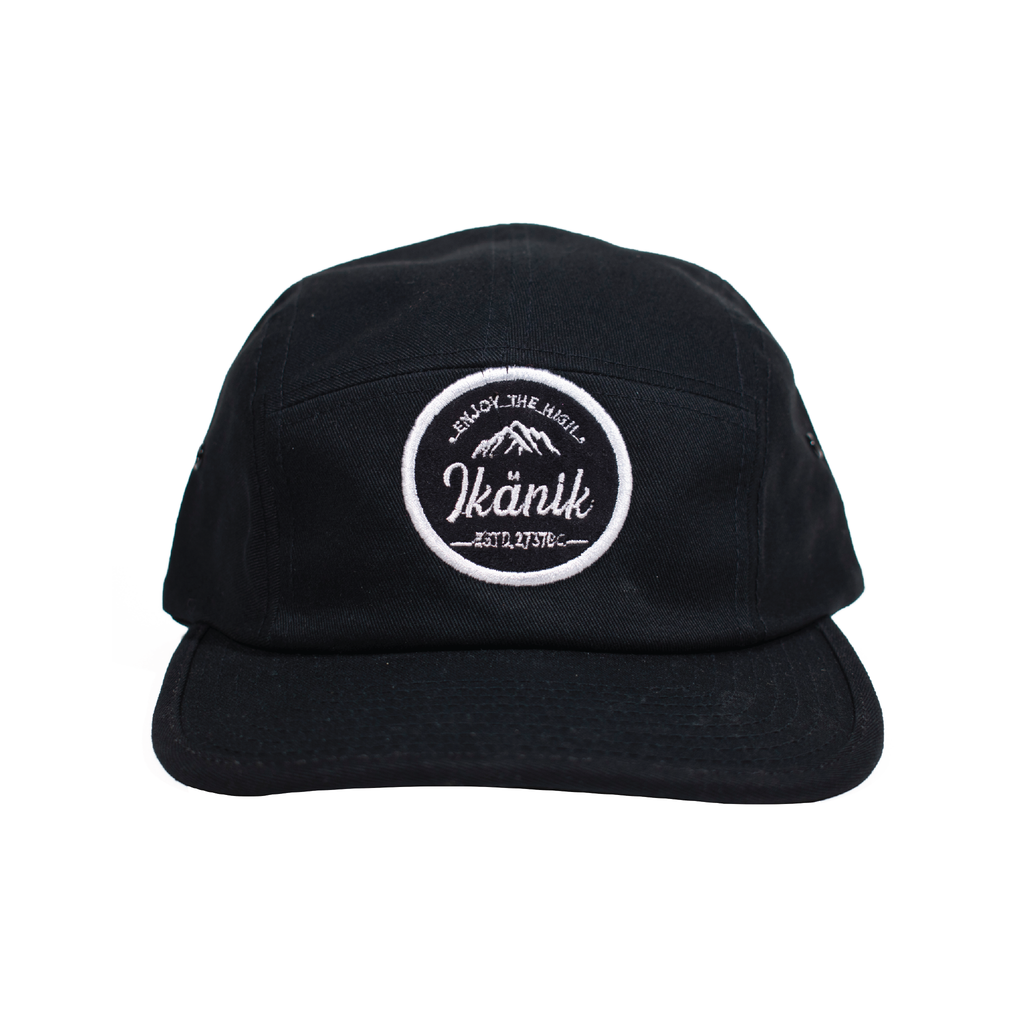 Patched 5 Panel Hat