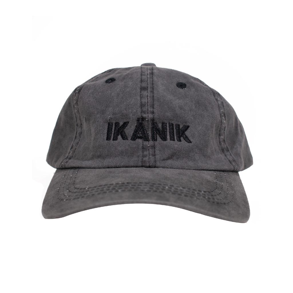 Grey Dad Cap