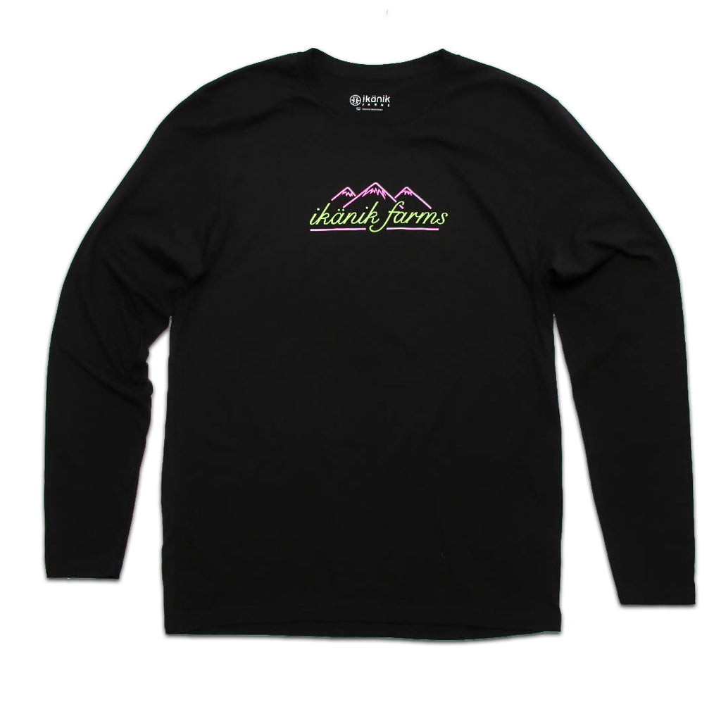 Neon Mountains Long Sleeve