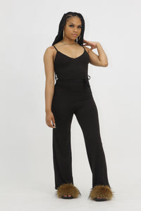 Flowing Jumpsuit - Black