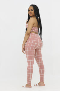 All in Pant Set - Mauve