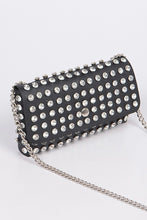 Load image into Gallery viewer, Studded Waist Bag - Black