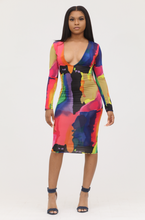 Load image into Gallery viewer, Paint Me Bodycon