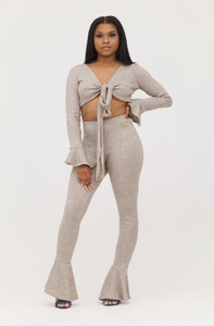 Thermal Cashmere Set - Taupe