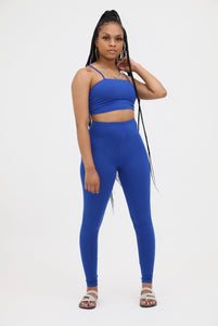 Legging Two Piece Set - Royal
