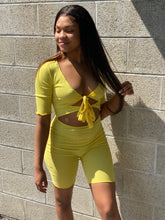 Load image into Gallery viewer, Jayda Romper - Yellow