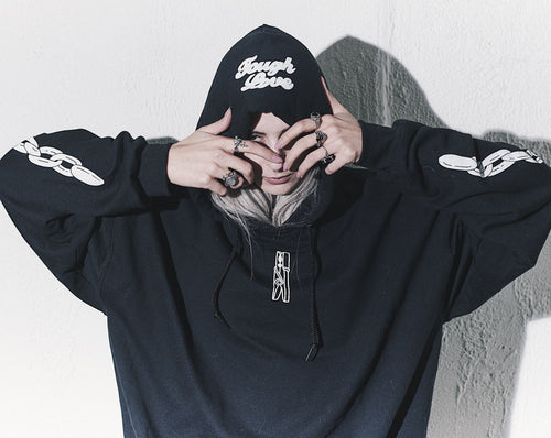 Tough Love / Clothespin Hoodie