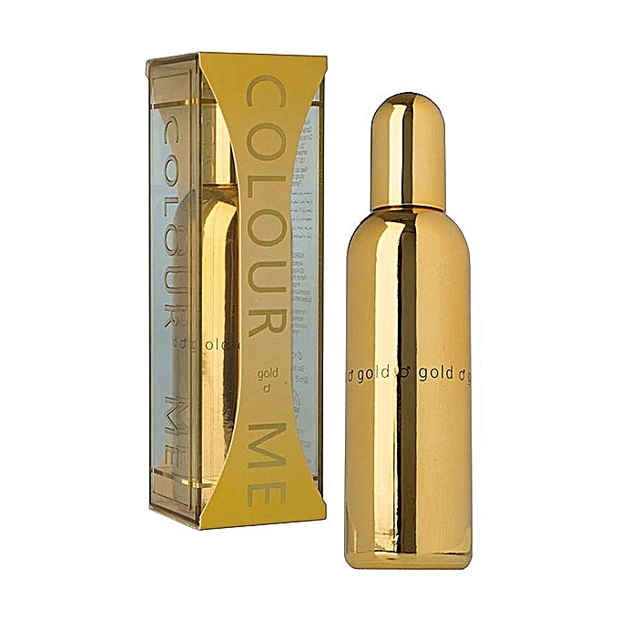 Milton Lloyd Colour Me EDP Gold Perfume - 90ml Men