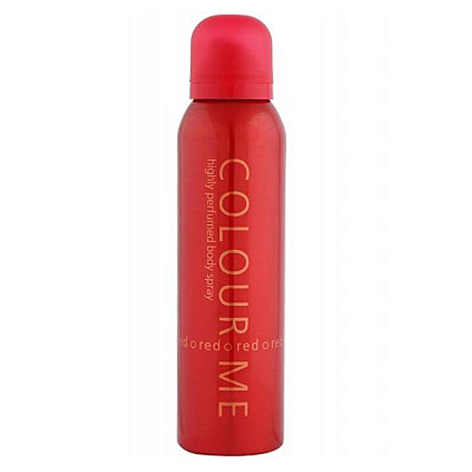 Milton Lloyd Colour Me Red Perfumed Body Spray - 150ml