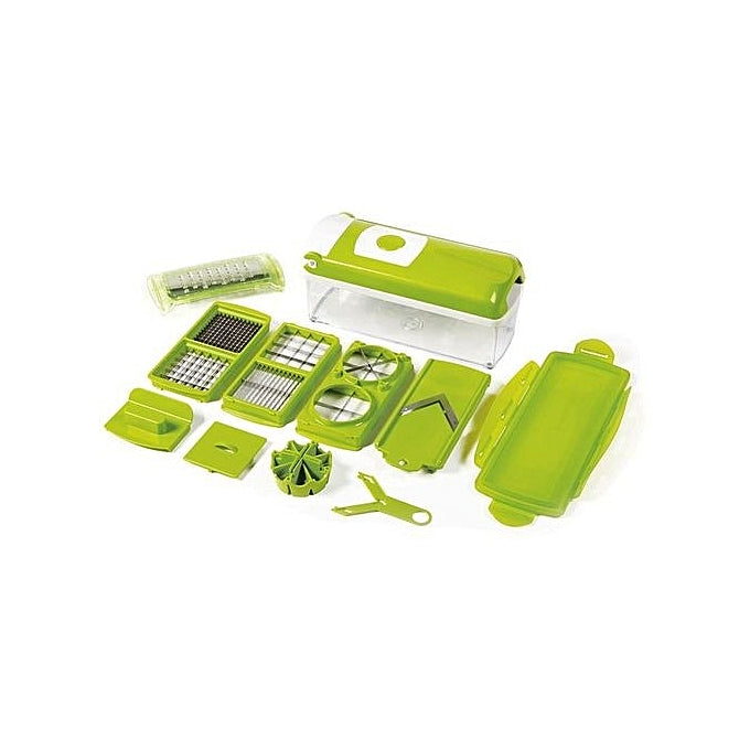 Genius Nicer Dicer Plus Multi-Purpose Vegetable & Fruit Slicer - 12 Pieces