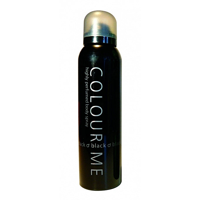 Milton Lloyd Colour Me Homme Black Body Spray - 150ml