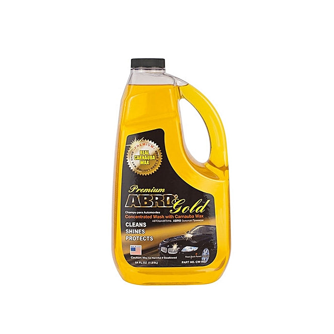 Abro Premium Gold Wash with free chamois cloth - 1.89ltrs