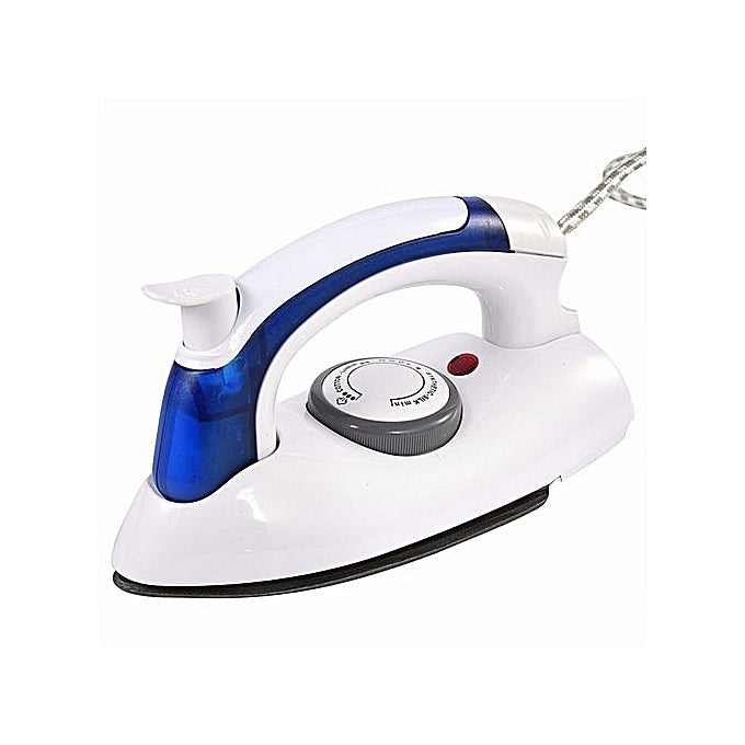 Portable Foldable Travel Steam Iron - 700 Watt White