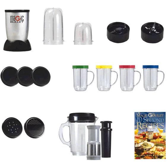 21pcs Magic Bullet Blender & smoothie maker