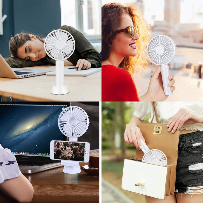 Aromatherapy Mini USB Rechargeable Fan