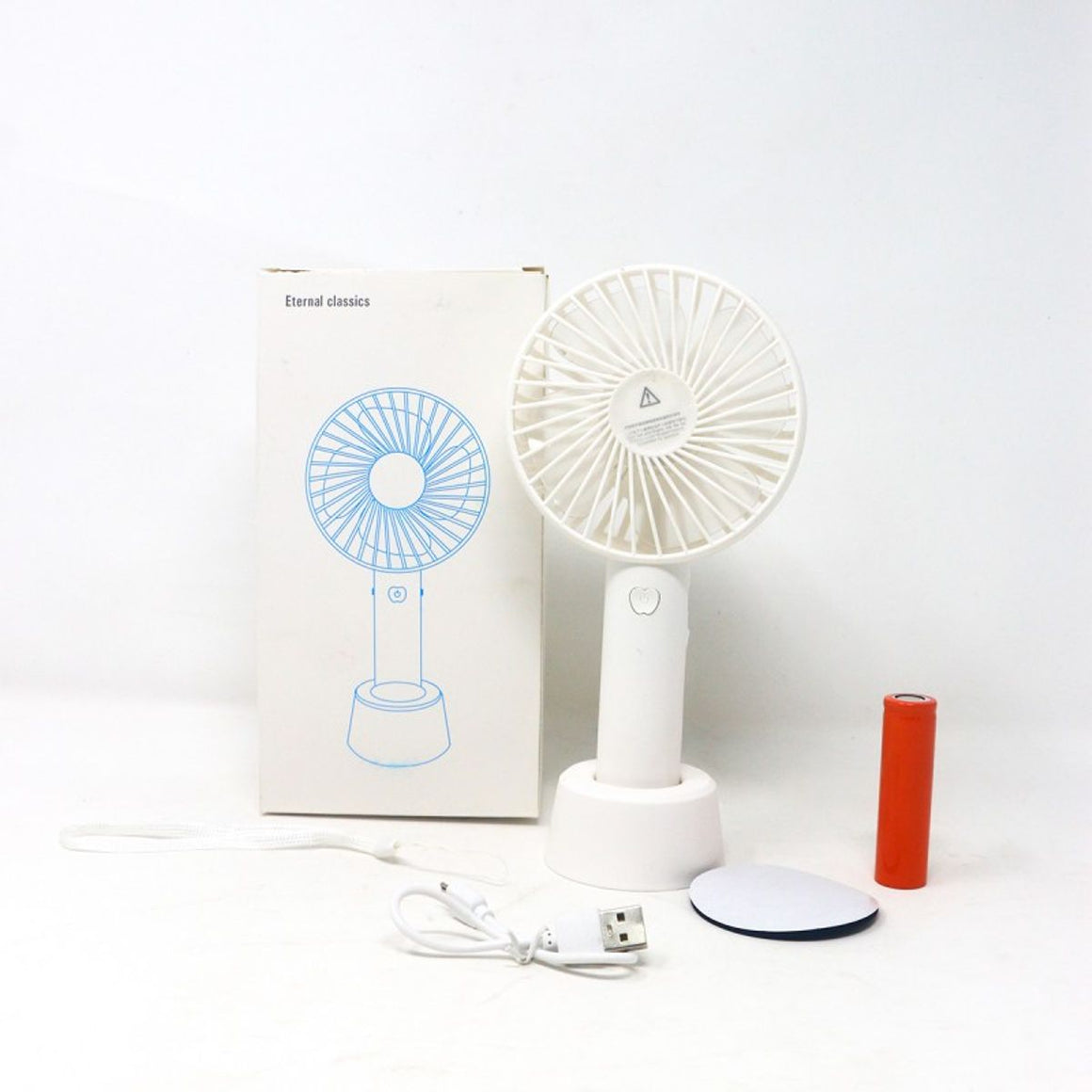 Mini USB Rechargeable Fan - Colored